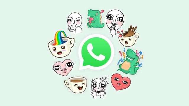 Os 'stickers' vão (finalmente) chegar ao WhatsApp
