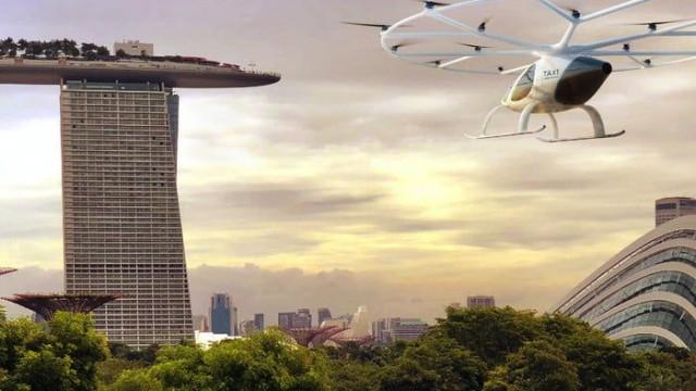 Singapura terá táxis que voam sozinhos em 2019