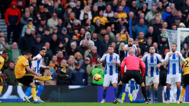 Tragédia: Adepto morre no decorrer do jogo Brighton-Wolves