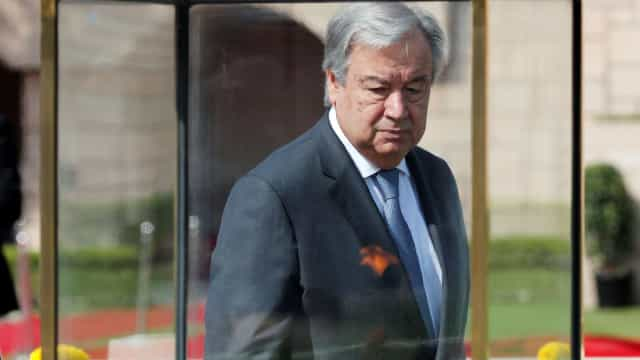 """António Guterres """"profundamente chocado"""" com ataque em sinagoga dos EUA"""