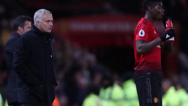 Imprensa inglesa revela 'rajada' de Mourinho contra Pogba no balneário