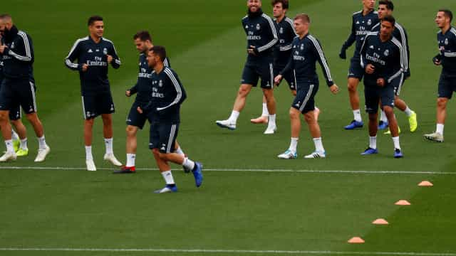Tensão entre adeptos e jogadores marcou o treino do Real Madrid