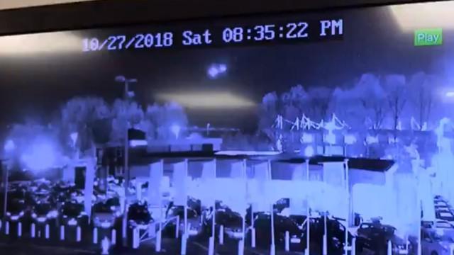 Momento da queda do helicóptero do dono do Leicester captado em vídeo