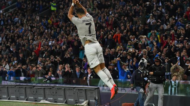 Cristiano Ronaldo faz 'voar' mais um recorde com 60 anos em Itália