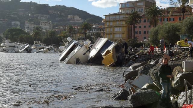 Autoridades confirmam 10 mortos devido a mau tempo em Itália