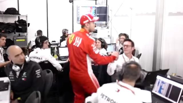 Vettel perdeu para Hamilton e o que fez a seguir foi... verdadeira classe