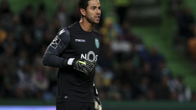 Guarda-redes do Sporting prepara-se para ser pai de novo
