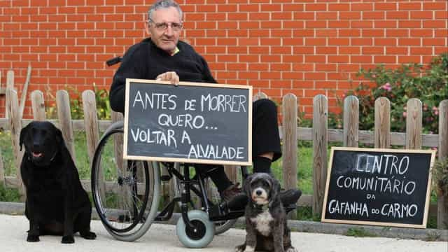 """""""Antes de morrer quero voltar a Alvalade"""". Eis o último sonho de António"""