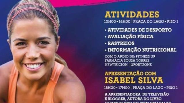 Saúde, desporto e nutrição com Isabel Silva no MaiaShopping