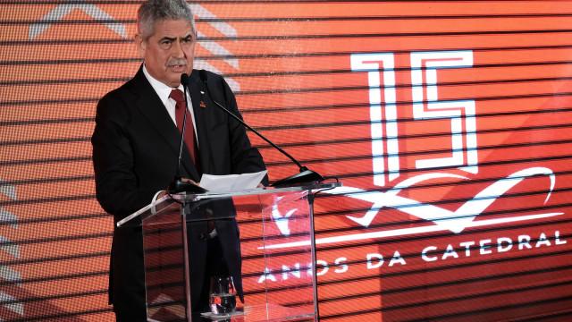 """Luís Filipe Vieira: """"Não sairei do Benfica sem ser campeão europeu"""""""