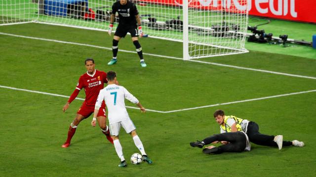 Ronaldo estava lesionado antes da final da Champions frente ao Liverpool