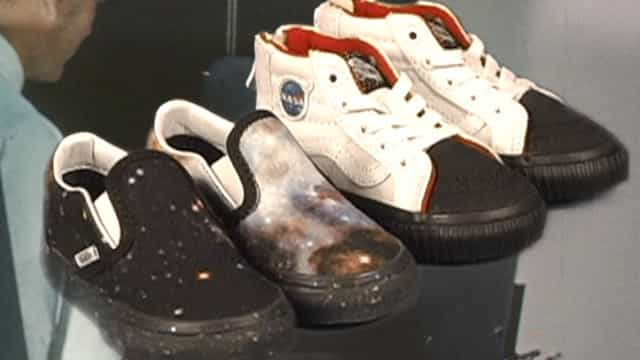 Por ordem da NASA, a Vans vai ao espaço
