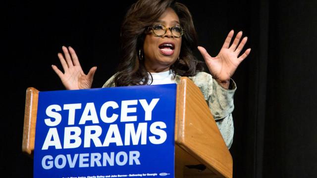 Oprah faz campanha por democrata no seu estado natal