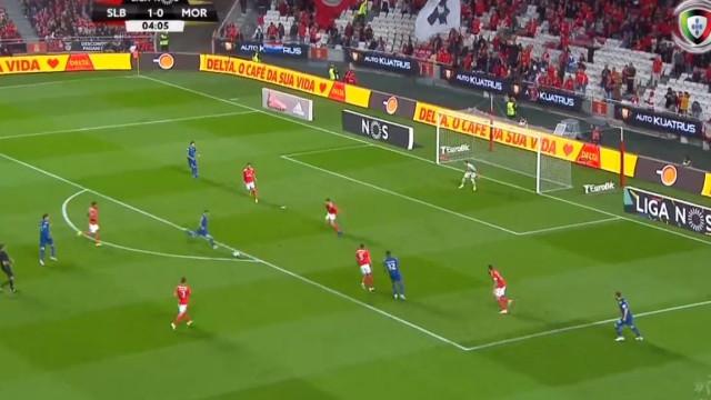 Chiquinho imita Jonas e iguala partida após golo madrugador do brasileiro