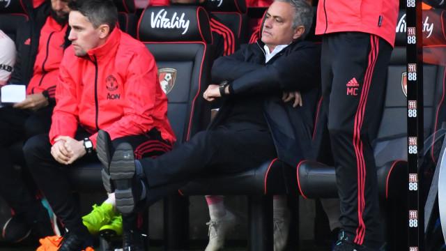 """Mourinho arrasa primeira parte do United: """"O melhor aquecimento da época"""""""