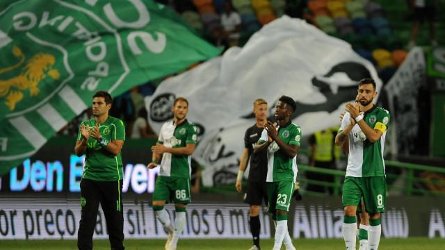 [1-0] Sporting-Chaves: Jogo morno em Alvalade