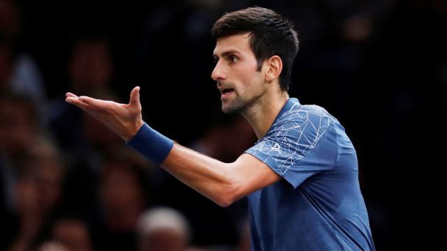 Assim anunciou Djokovic a sua participação no Open da Austrália