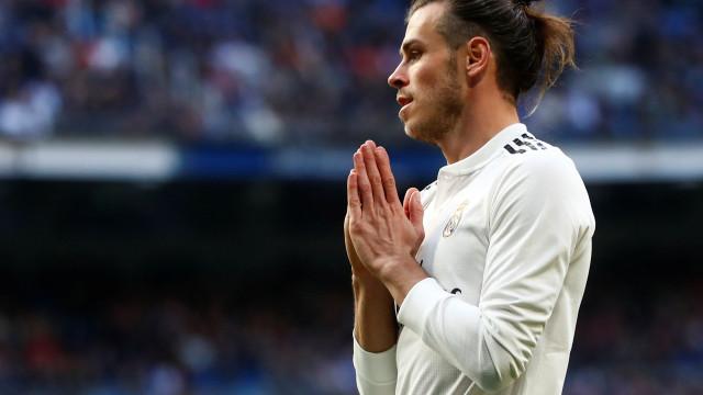 Bale faltou a jantar do Real Madrid por... ir para a cama às 23h00