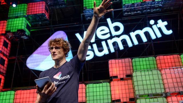 """""""Espero que toda a gente passe um grande momento na Web Summit"""""""