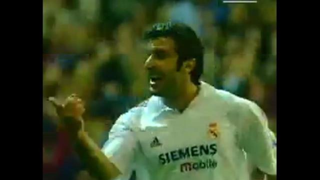 Figo está de parabéns e a UEFA partilhou um golo. Lembra-se deste?