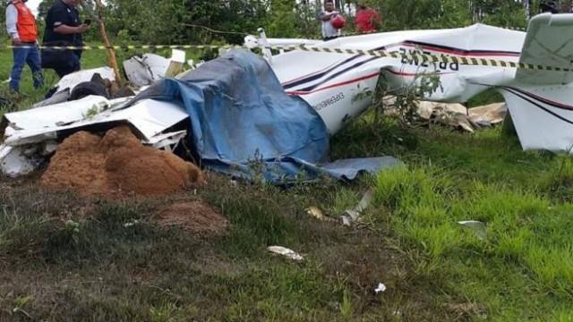 Cinco familiares mortos em acidente de avioneta no Brasil