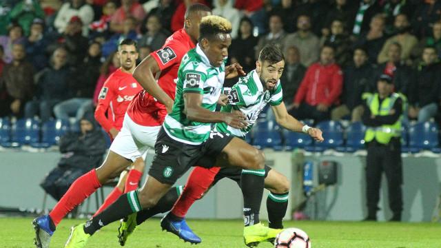 Tiago Fernandes aplicou o 'chicote' ao intervalo e leão acordou a tempo