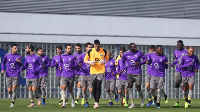 Assim foi o último treino do FC Porto antes da receção ao Lokomotiv