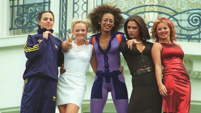 Geri Halliwell partilhou foto única da primeira sessão das Spice Girls