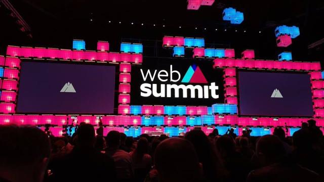 Web Summit arrancou com cores nacionais e confetis internacionais