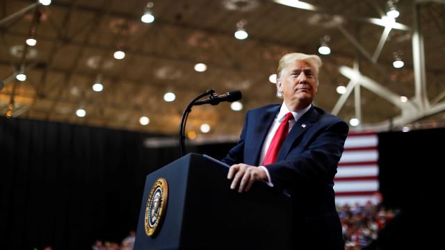 Trump considera as eleições como um referendo à sua presidência