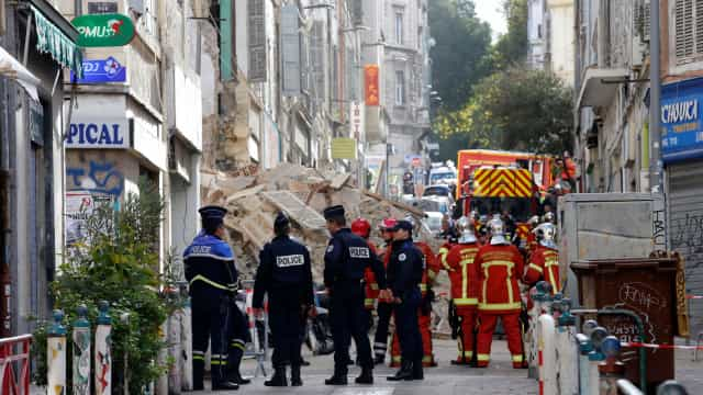 Descoberto corpo nos escombros de edifícios que ruíram em Marselha
