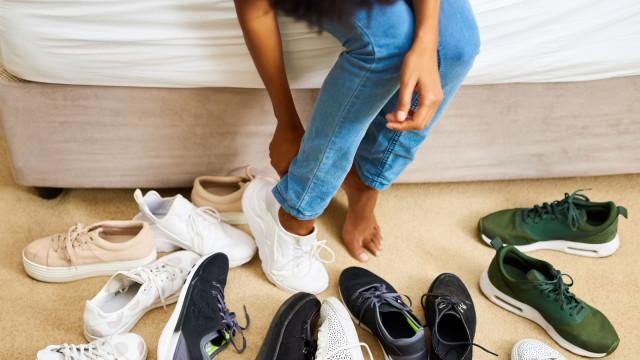 E o sapato do ano 2018 segundo a Footwear News é...