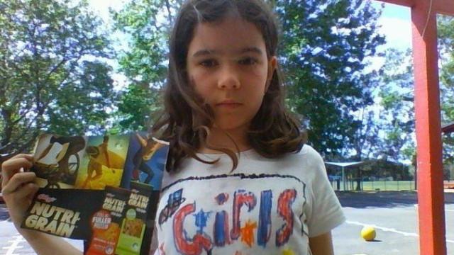 Menina de 8 anos cria petição contra o sexismo na marca Kellogg's