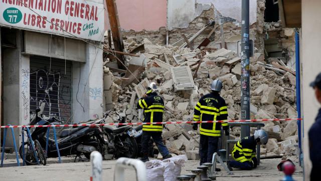 Encontrado segundo corpo em escombros de prédios em Marselha