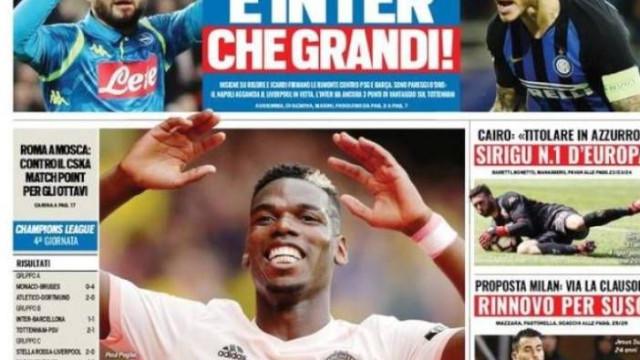 """Lá fora: A nova estrela do Barcelona e o regresso de Pogba a... """"casa"""""""