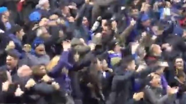 """Icardi marcou à beira do apito final e San Siro quase """"vinha abaixo"""""""