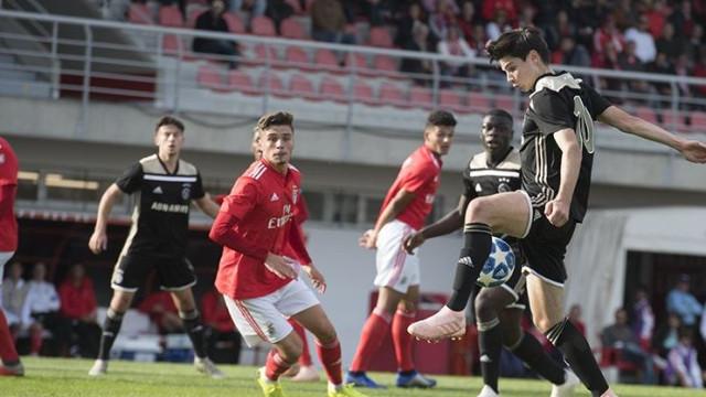 Benfica empata com Ajax em jogo de nervos na Youth League