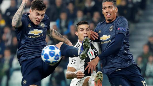 United surpreendeu à beira do fim. Três minutos de pesadelo para a Juve