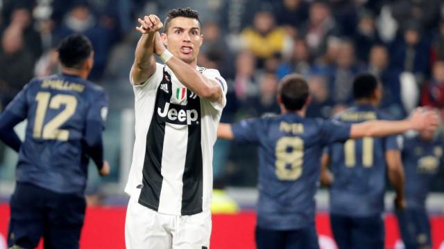"""Ronaldo e a derrota: """"O United não mereceu a vitória"""""""