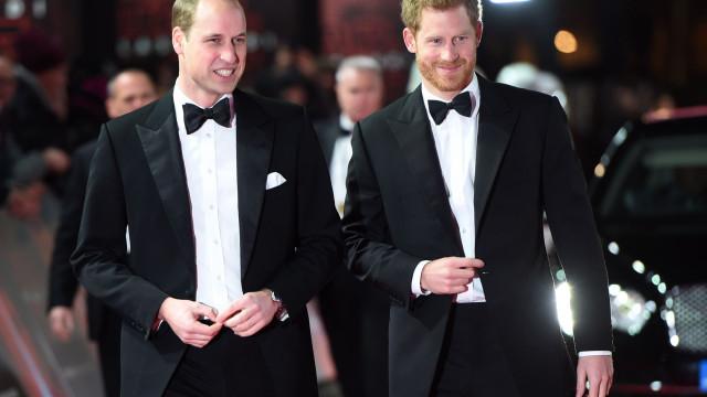 Separação entre Harry e William cada vez mais evidente