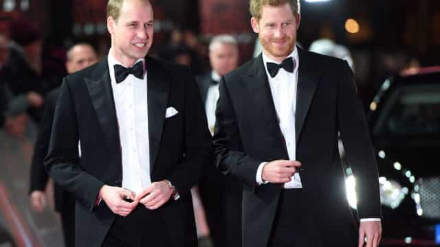 Separação entre Harry e William cada vez mais evidente