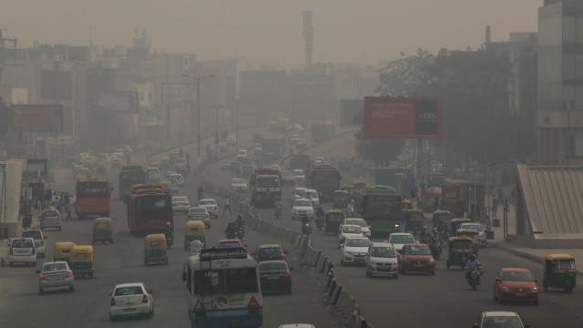 Poluição do ar na Índia mata mais pessoas do que o terrorismo