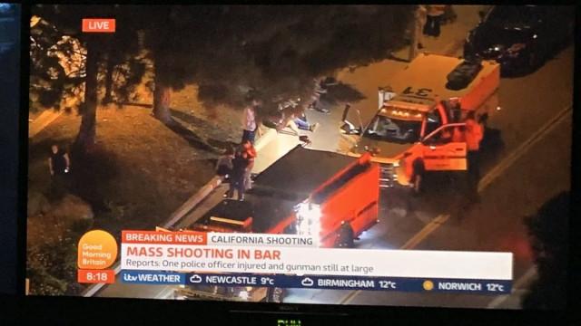 """Polícia responde a situação de tiroteio na Califórnia. """"Vários feridos"""""""