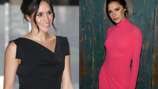 O motivo pelo qual Meghan Markle não usa vestidos de Victoria Beckham