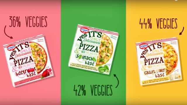 'YES It's Pizza', e a massa é vegetal