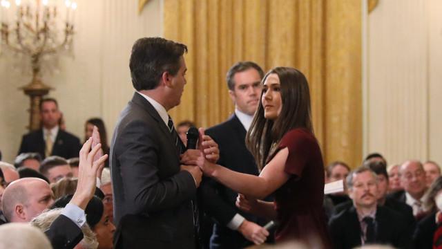 Casa Branca usa vídeo editado para justificar afastamento de jornalista