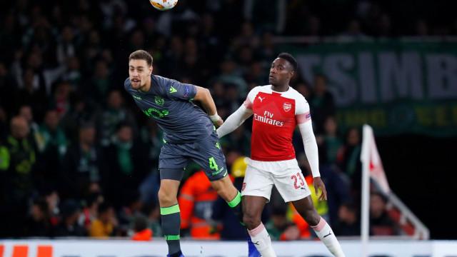 [0-0] Arsenal-Sporting: Aubameyang quase marca para os gunners