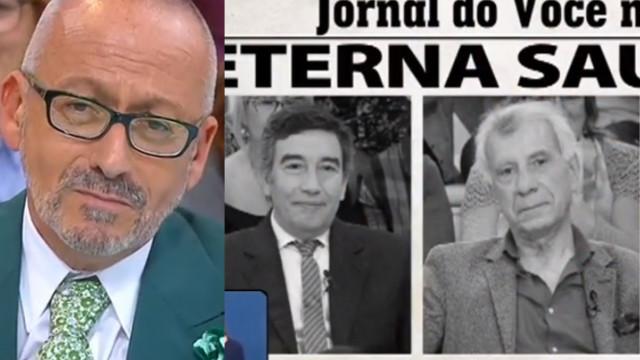 """Goucha despede-se de comentadores: """"Ide e que a Cristina vos acompanhe"""""""
