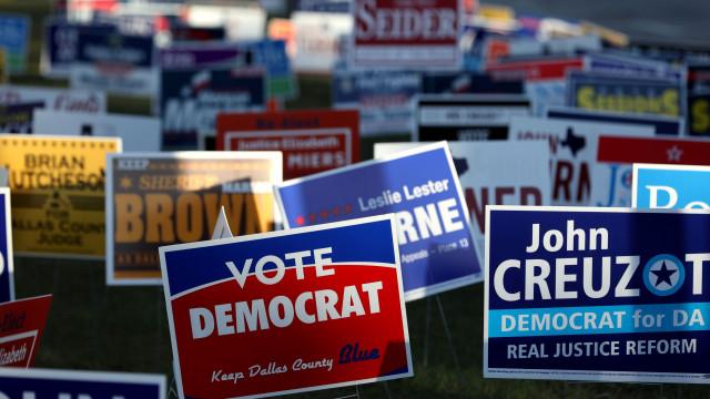 Republicanos e Democratas em lutas internas no Congresso dos EUA