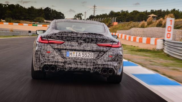 O novo BMW M8 esteve em Portugal a fazer testes